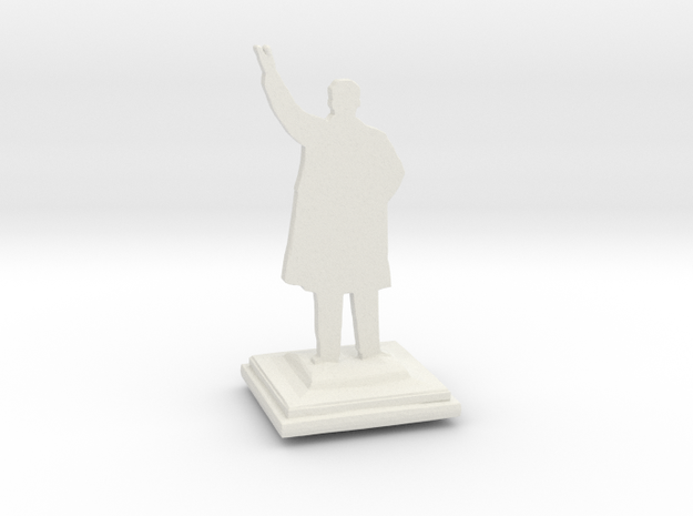 Glorious Leader Monument in White Natural Versatile Plastic