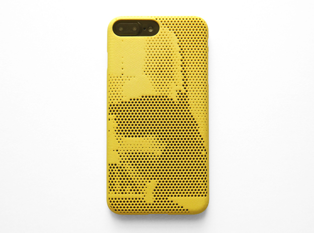 iPhone 7 plus case_Darth Vader in Yellow Strong & Flexible Polished
