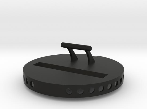 Audi Q2 iPhone docking station/ holder  in Black Natural Versatile Plastic