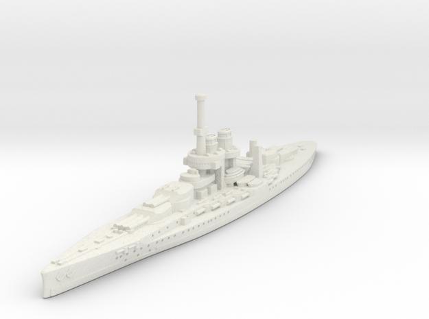 Ersatz Monarck Class Battleship (Austria Hungary) in White Natural Versatile Plastic