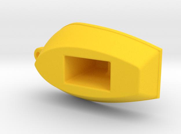 Toy Boat (customizable) in Yellow Processed Versatile Plastic: Medium