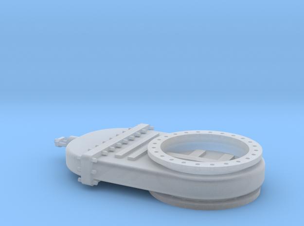 Absperrschieber 1200mm - TT 1:120 in Smooth Fine Detail Plastic