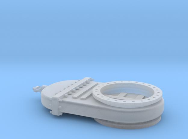 Absperrschieber 1500mm - TT 1:120 in Smooth Fine Detail Plastic