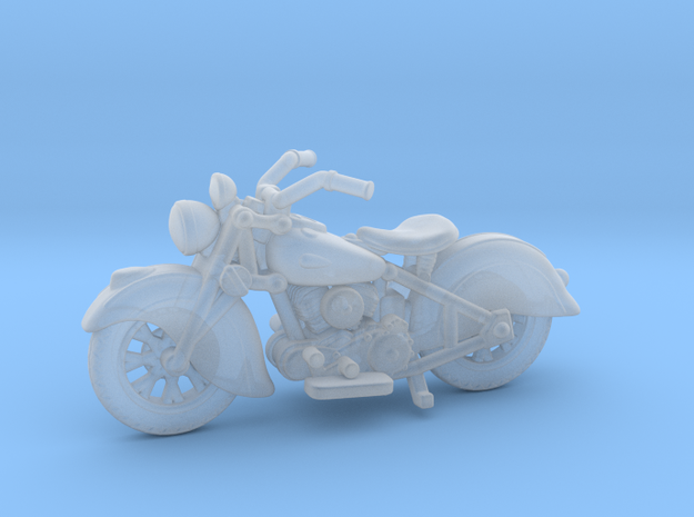 Indian Sport Scout 1940  1:87 HO in Smooth Fine Detail Plastic