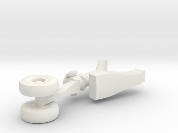 12-GIVSP-144scale-FwdLandingGear-Extended in White Natural Versatile Plastic
