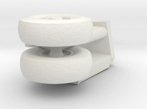 17-GIVSP-144scale-StbdsideLandingGear-Compressed in White Natural Versatile Plastic