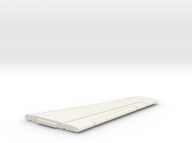 22-GIVSP-144scale-HorizTail-Stbdside in White Natural Versatile Plastic