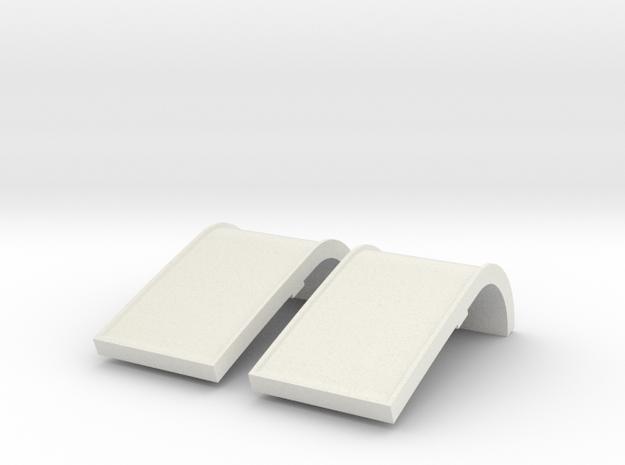 Tamiya Blazing Blazer Rear Taillights  in White Natural Versatile Plastic