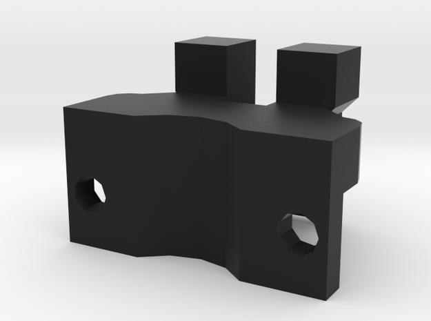 RS L85 rail adapter 1 in Black Natural Versatile Plastic