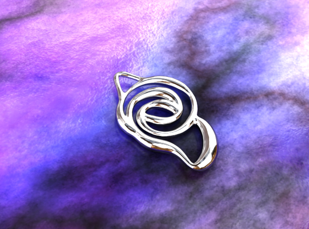 Achieve unity  in Polished Silver