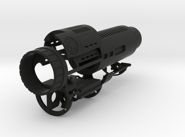 MPP 2 Chassis_V1  in Black Natural Versatile Plastic