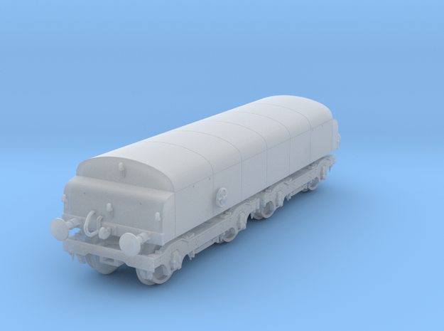 Diesel Brake Tender N gauge in Smooth Fine Detail Plastic