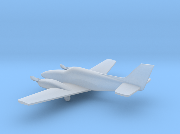 Beech Baron G58 v2 1:200 in Smooth Fine Detail Plastic
