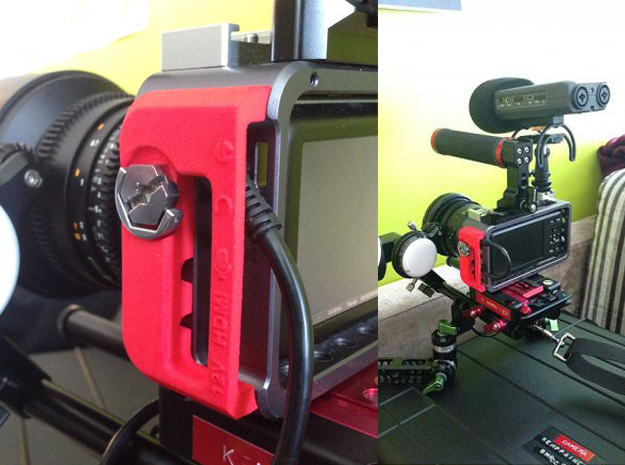 BMPCC Contineo Cage cable clamp 3d printed
