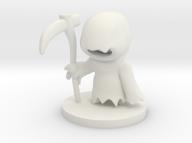 Reaper in White Natural Versatile Plastic