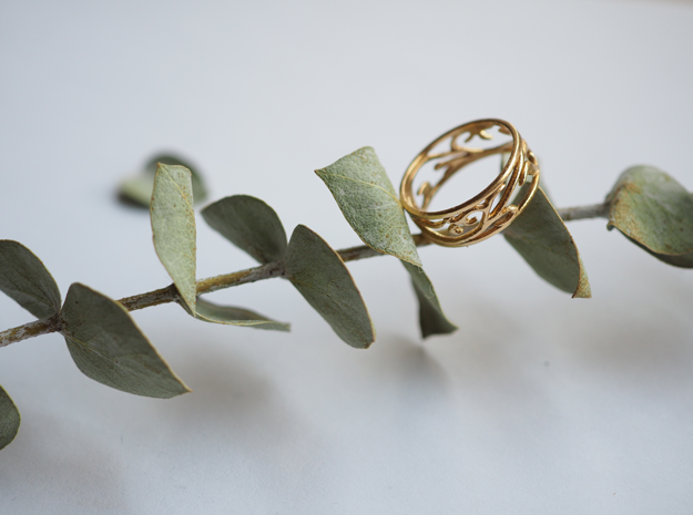 Delicate Ivy Ring