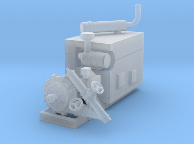 1/87th Diesel Electric Generator Booster Pump