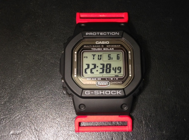Model 1622 G-Shock NATO/ZULU adapter 3d printed