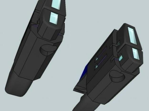 TFP Arcee Blasters 3d printed