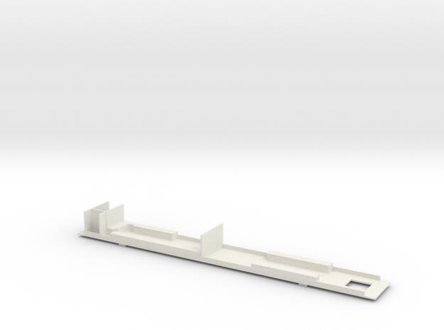 #27B Postwagen 00-03 052 Innenausbau in White Natural Versatile Plastic