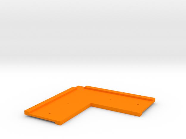 T-Trak Corner Template in Orange Processed Versatile Plastic