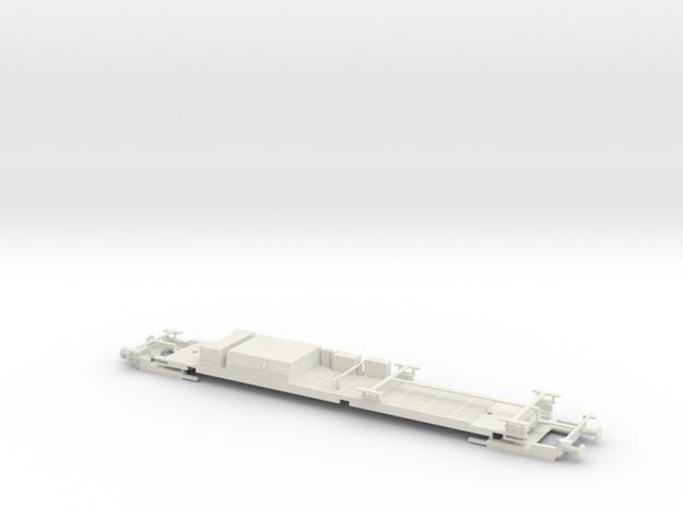 #27C Postwagen 00-03 052 Untergestell in White Natural Versatile Plastic