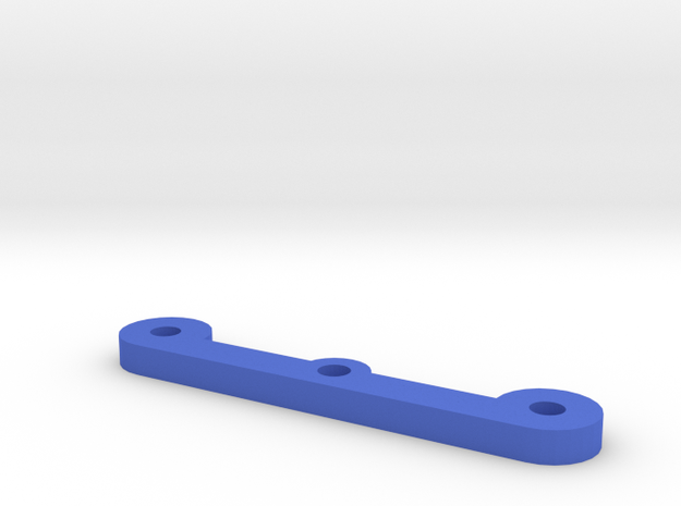 MagDragster - NO Steering Rod in Blue Processed Versatile Plastic