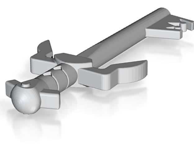 test sword (#117) in White Natural Versatile Plastic