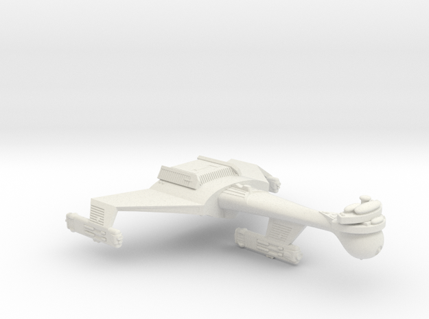 3788 Scale Romulan K9R Dreadnought (Smooth) WEM in White Natural Versatile Plastic
