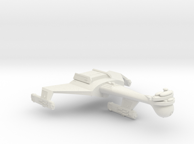 3125 Scale Romulan K9R Dreadnought (Smooth) WEM in White Natural Versatile Plastic