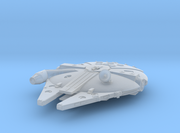1:1500 Millenium Falcon, gear up in Frosted Extreme Detail