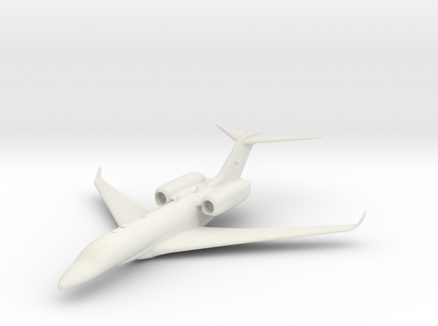 Cessna Citation X in White Strong & Flexible