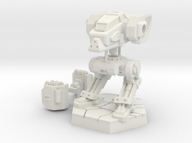 Light Mech type1 Basic set in White Natural Versatile Plastic