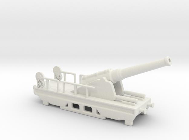canon de 240 sur affut truc nle 1903 1/72 in White Natural Versatile Plastic