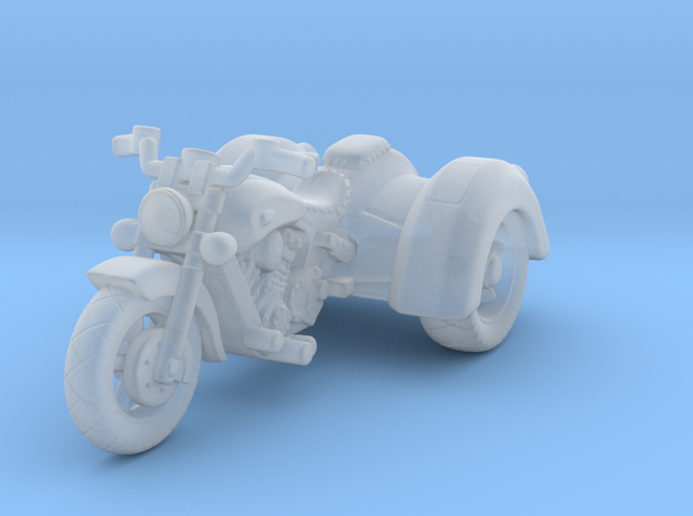 Indian Scout Trike 1:87 HO in Smooth Fine Detail Plastic