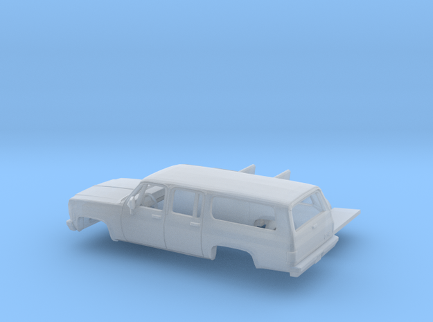 1/87 1973-79 GMC Suburban Kit in Smooth Fine Detail Plastic