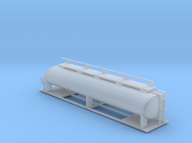 Ffestiniog Rly bogie oil tanker in Smooth Fine Detail Plastic
