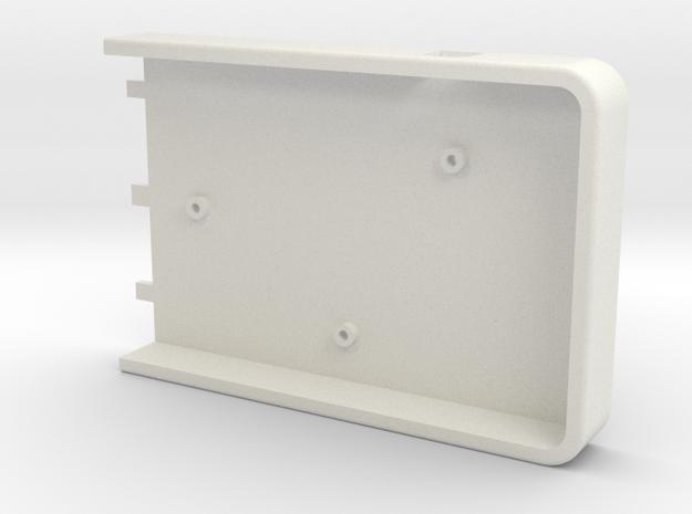 part 1 van keyboard case in White Natural Versatile Plastic