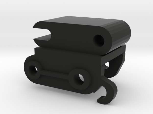 Snelkoppeling 6 mm  in Black Natural Versatile Plastic