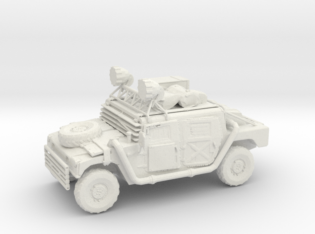 Wasteland Hummer  - Variation B  in White Natural Versatile Plastic