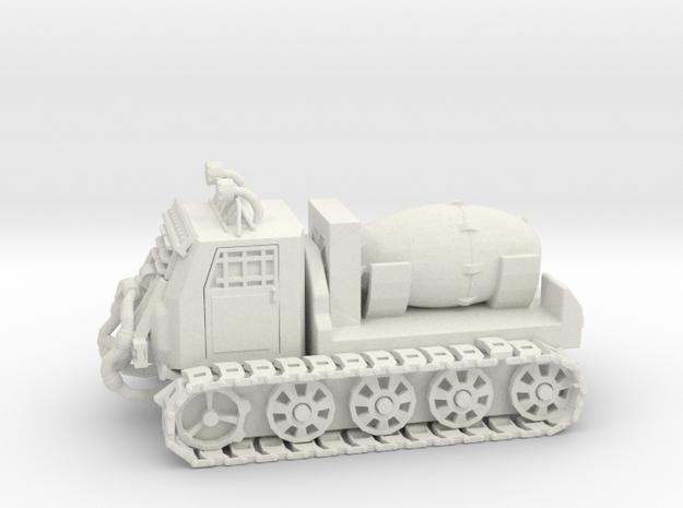 Nuke Carrier - Variation B  in White Natural Versatile Plastic
