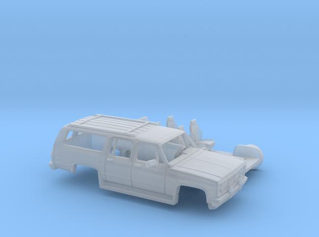 1/160 1981-88 GMC Suburban Splitt Door Kit