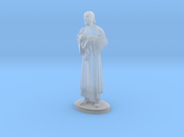 Presto the Magician Miniature in Smoothest Fine Detail Plastic: 1:60.96