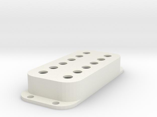 Strat PU Cover, Double, Classic in White Premium Versatile Plastic