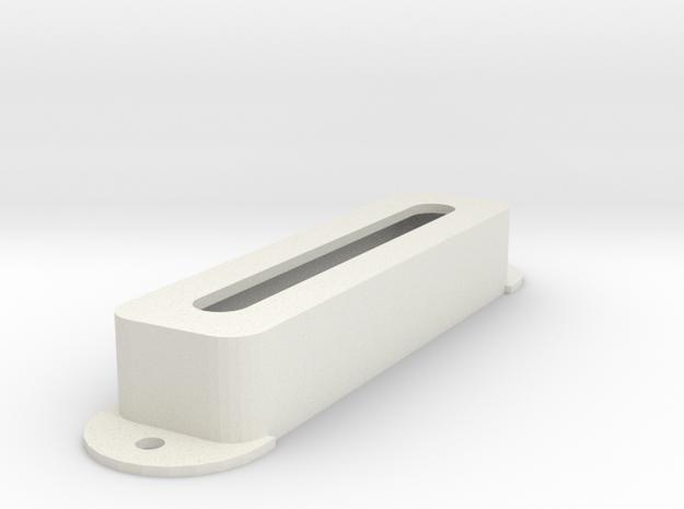 Jag PU Cover, Pickguard, Open in White Premium Versatile Plastic