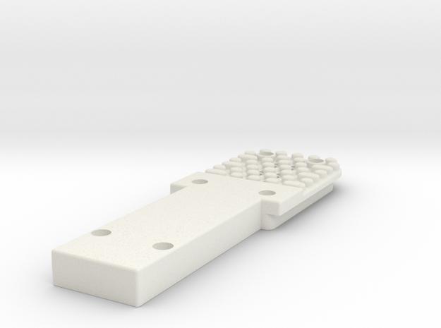 1000266461 Rev 01 in White Natural Versatile Plastic