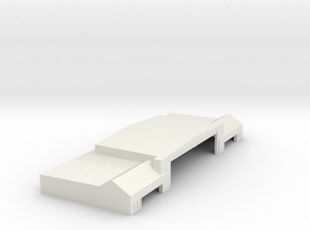 Hanger 2 in White Natural Versatile Plastic: 1:400