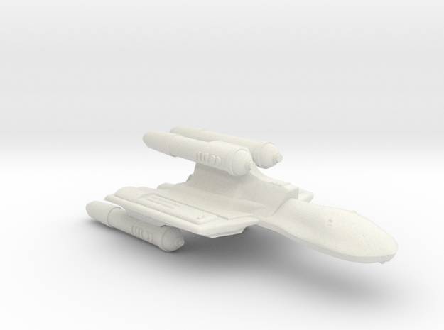 3788 Scale Romulan SuperHawk-K Command Cruiser MGL in White Natural Versatile Plastic