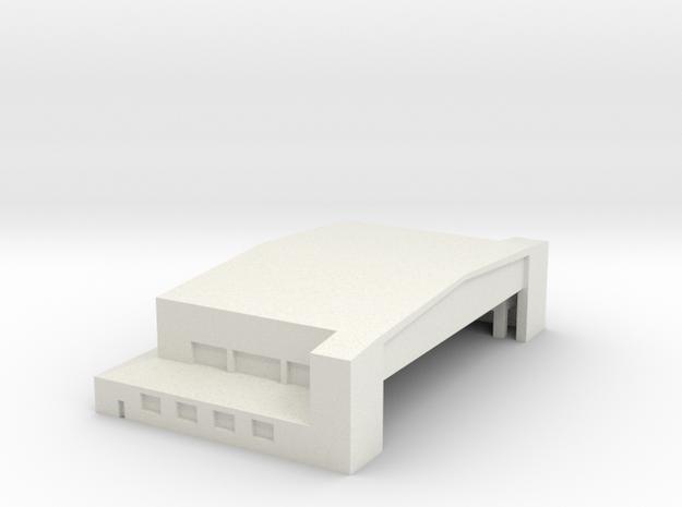 Hanger 3 in White Natural Versatile Plastic: 1:700