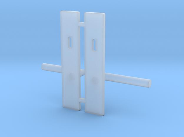 1:12 Handle door  in Smooth Fine Detail Plastic
